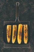 serpenyőben sült kukorica