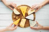 Fotografie pálivých papriček sýr