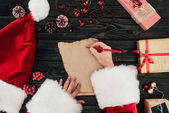 Fotografie Santa claus writing present list