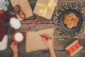 Fotografie christmas presents list
