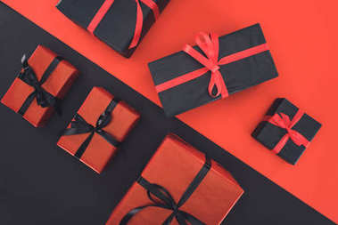 presents and gift boxes