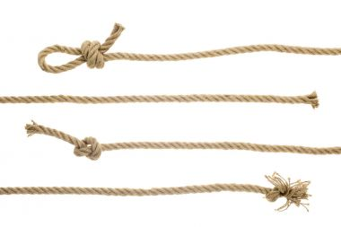 ropes with knots