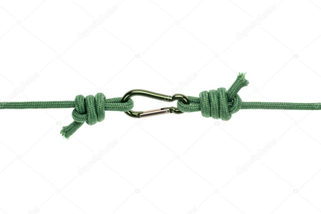 ropes with carabiner