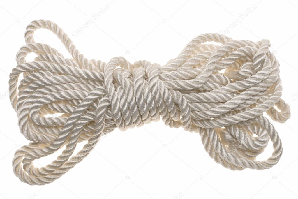 white tied rope