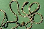 nautische Seil mit Knoten