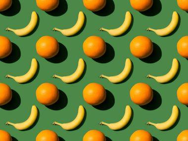 oranges and bananas pattern