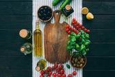 Fotografie zelenina na stůl