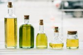 Fotografie olivový olej láhve