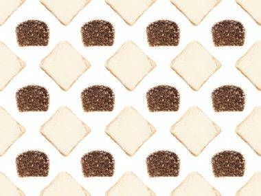 bread slices pattern