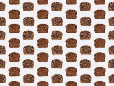 slices of bread pattern