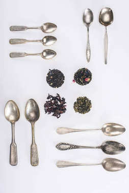 herbal tea and spoons