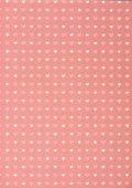 Fotografie Satz von rosa und weißen Herzen auf pink