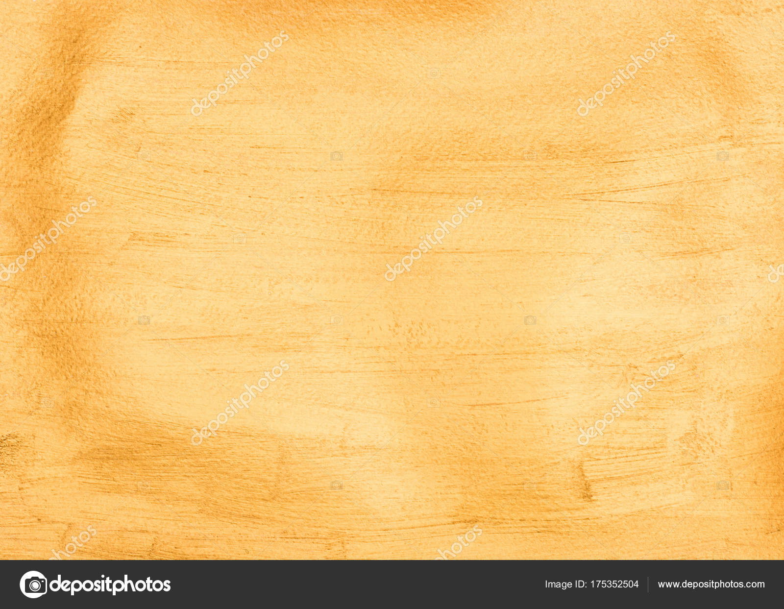 Full Frame Bright Yellow Wallpaper Texture Background Stock Photo