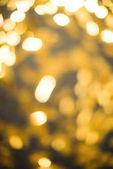 full frame of defocused bright christmas festive lights