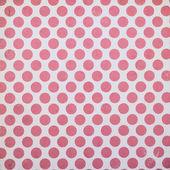 Fotografia bianco confezione dal design con cerchi rossi