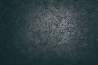 Close up view of dark concrete scratched grungy background stock vector