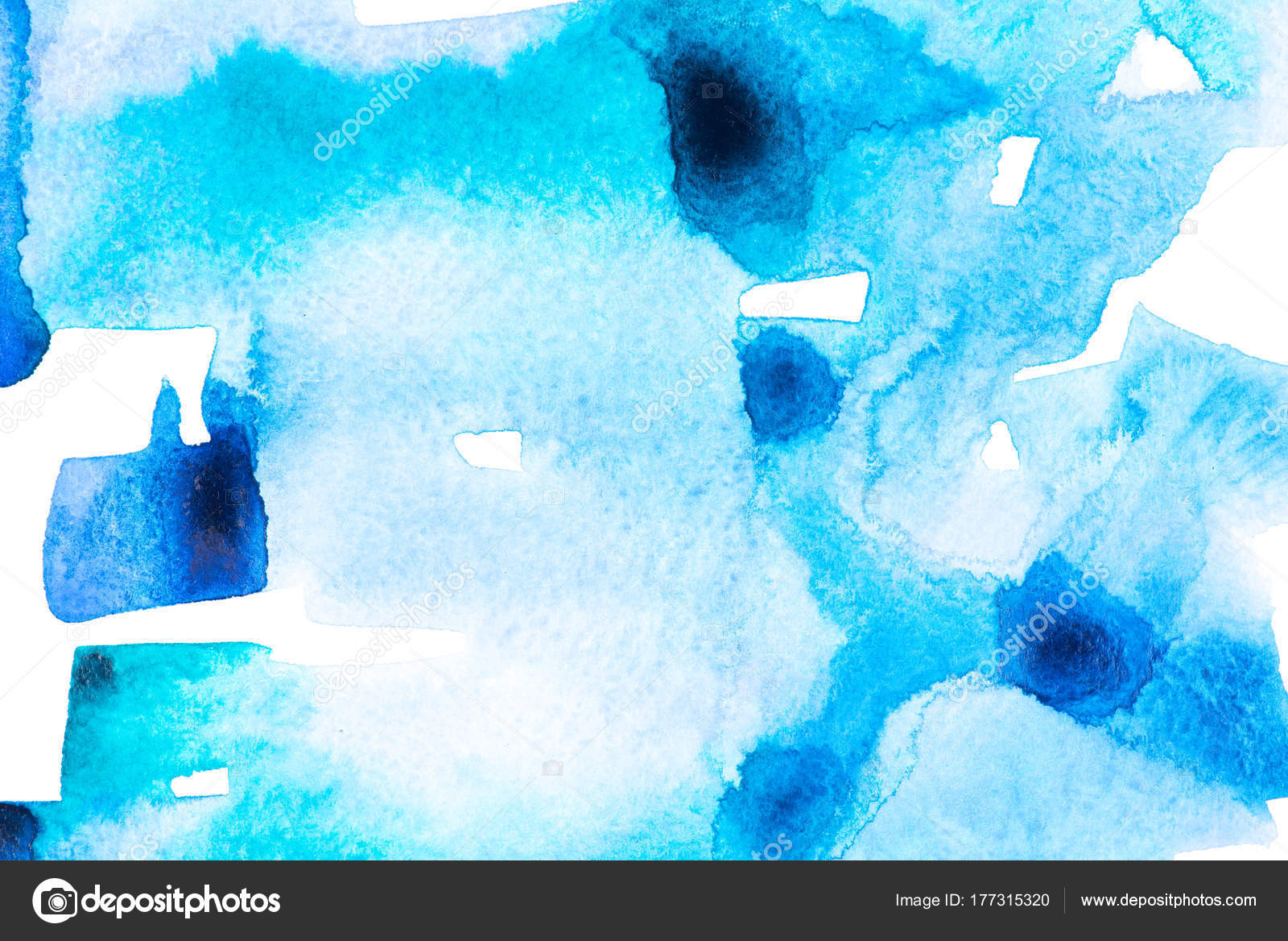 Dark Blue Abstract Painting Abstract Painting Dark Light