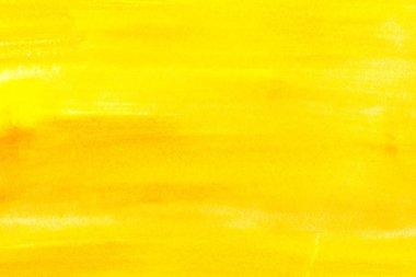 """Картина, постер, плакат, фотообои """"абстрактная живопись с ярко-желтыми мазками, полная рамка """", артикул 177313832"""