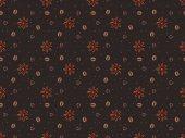 Fényképek varrat nélküli mintát ánizs csillag barna elszigetelt és szemes kávé