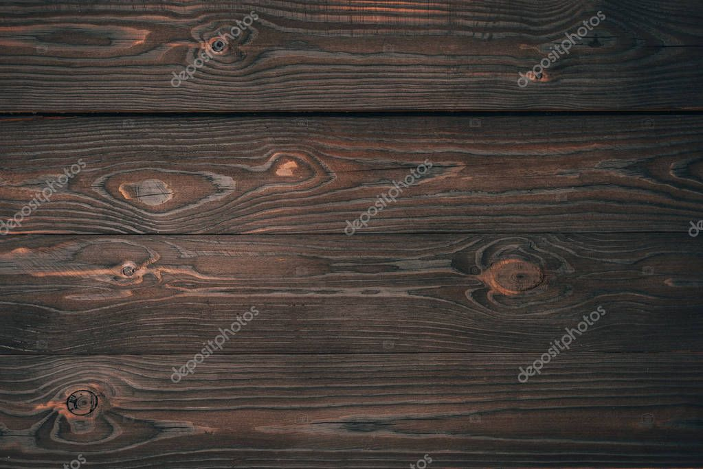 top view of dark wooden planks, wooden background