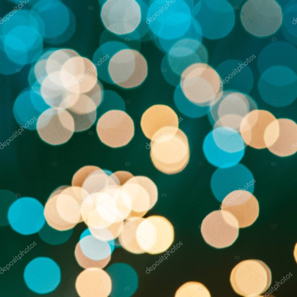 abstract blurred yellow and blue texture background