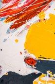 abstraktní barevné textury s uměleckým fleky