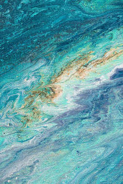 oil painting as abstract blue texture