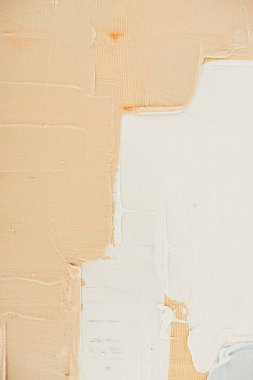 beige brush strokes on abstract oil painting