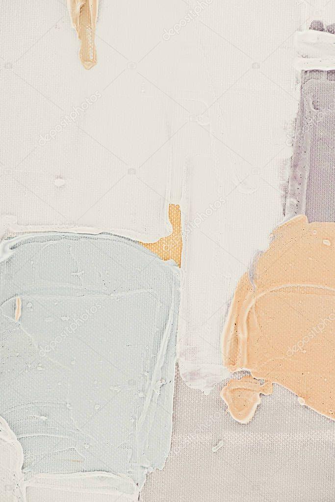 Light brush strokes on abstract oil background stock vector