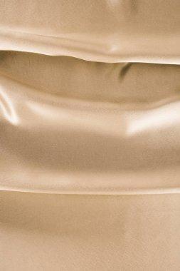 golden shiny satin fabric background