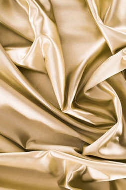 bronze shiny silk fabric background