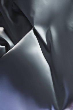 silver shiny silk fabric background