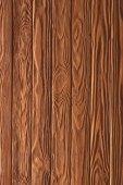 Dřevěný plot prkna pozadí vybarvené v mědi