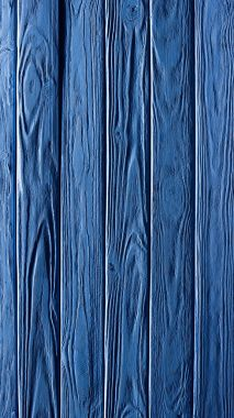 Carpentry template with vertical blue wooden planks
