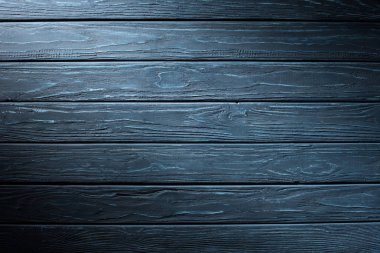 Carpentry template with cyan wooden planks