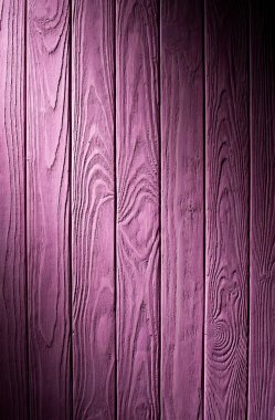 Wooden planks painted in purple background stock vector