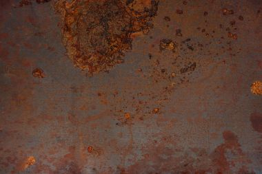 Dirty and rusted metal surface texture
