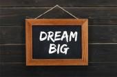 tábla álom nagy felirat fából készült falra akasztható