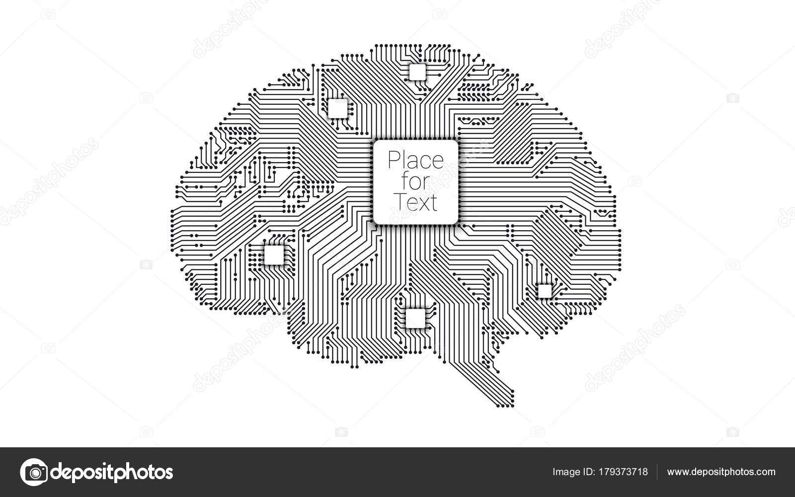 side vector circboard wiring diagram circuit board vector brain     stock vector    dr911 179373718  circuit board vector brain     stock