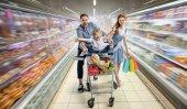 Fotografia  supermercato