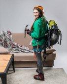 Fényképek gyönyörű mászó sisak hegymászáshoz felszerelések otthon