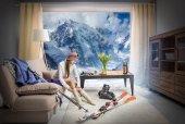 Fotografie Skifahrer
