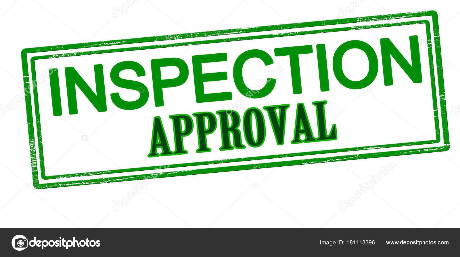 inspection approval stamp stock vector carmenbobo 181113396