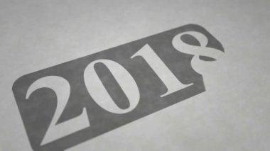 New year 2018 intro