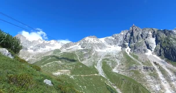 Panoramic view on Western Alps
