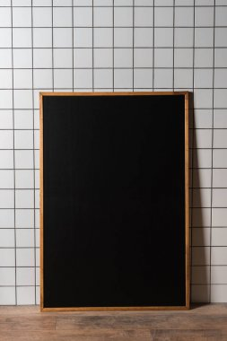 chalkboard in wooden frame
