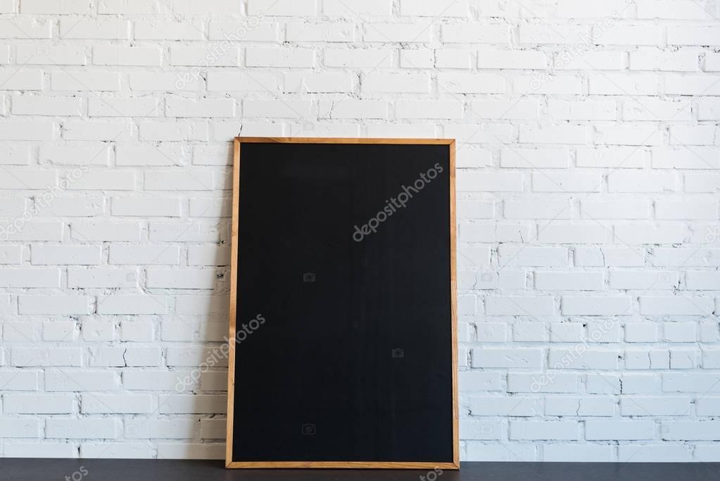 chalkboard in wooden frame