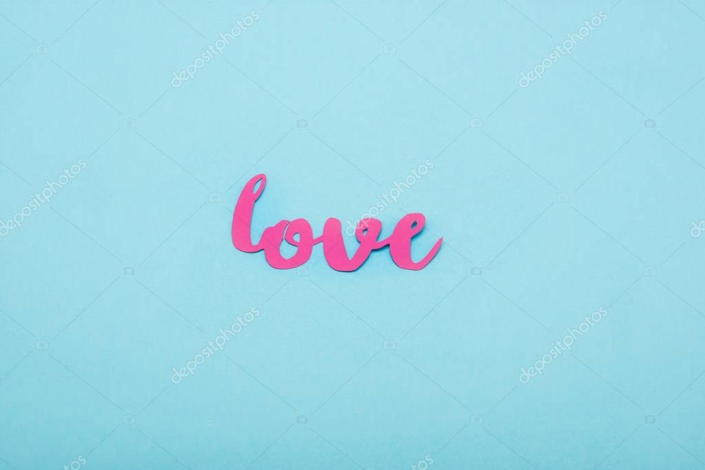 Decorative love symbol