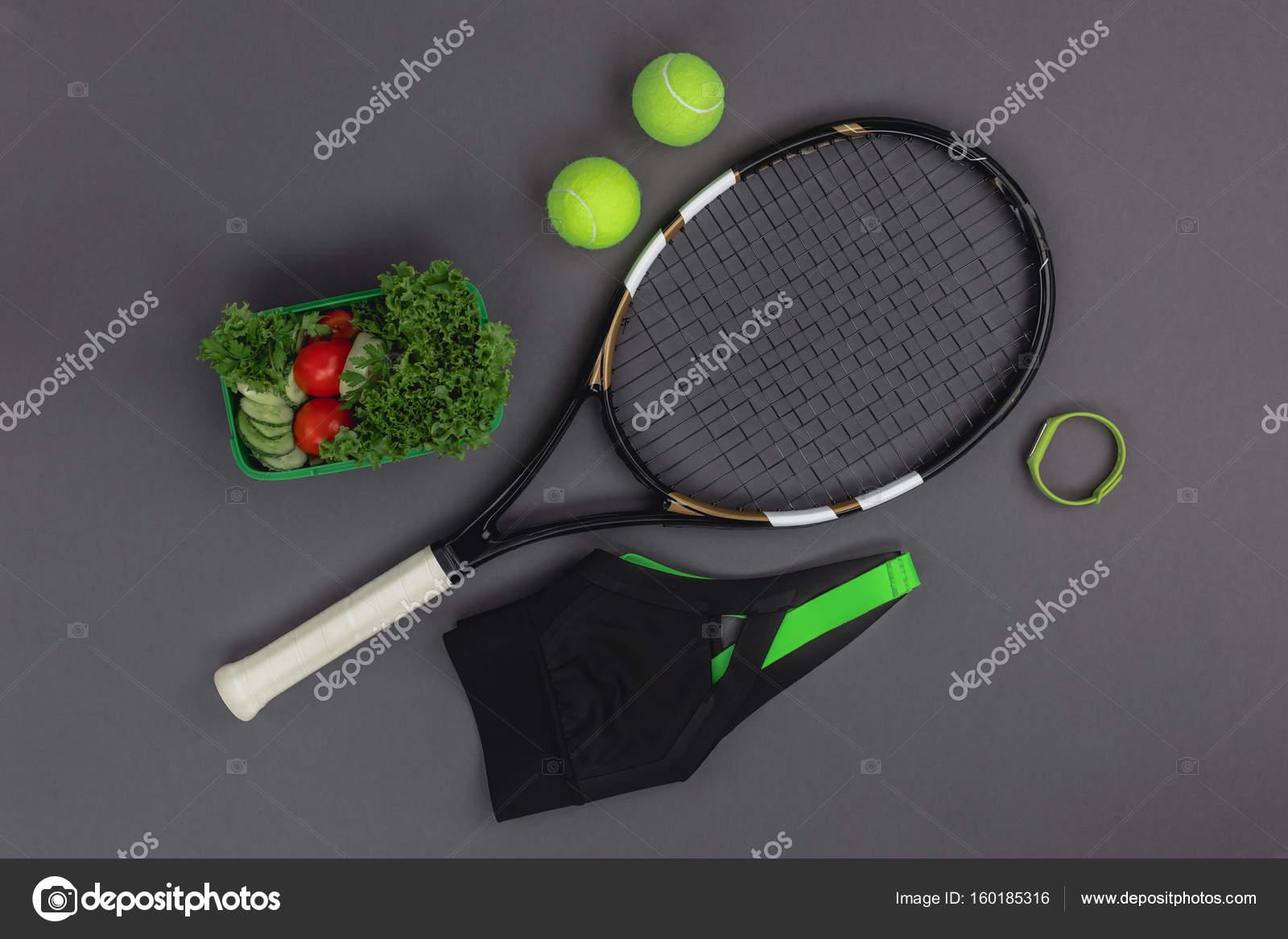 promo code 14ace 04682 Tennisausrüstung und sportswear — Stockfoto © AntonMatyukha ...