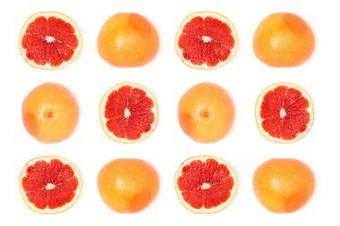 composition of fresh grapefruits